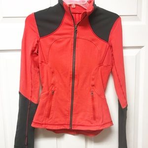 Lululemon sz 4 Red and Gray Jacket